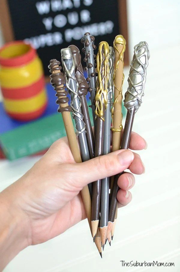 Harry Potter Wand Pencils