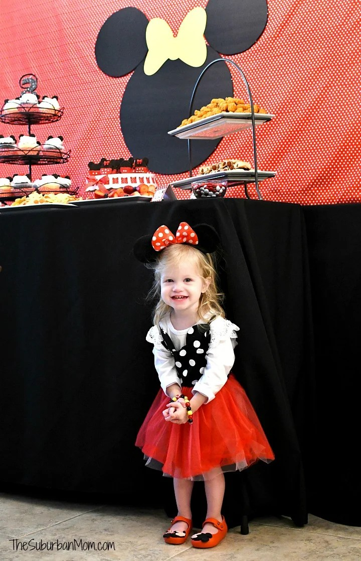Minnie Mouse Birthday Party Outfit