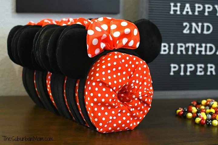 Minnie Mouse Ears Party Favor