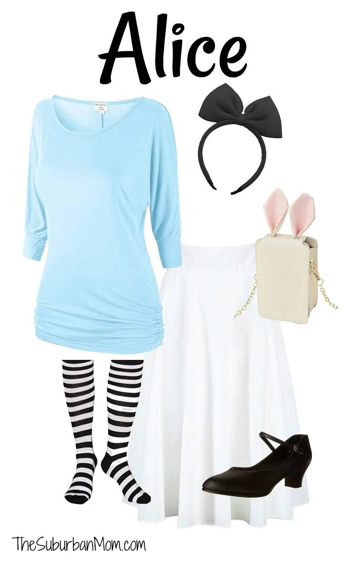 664b116c4 Alice In Wonderland Disney Bounding - The Suburban Mom