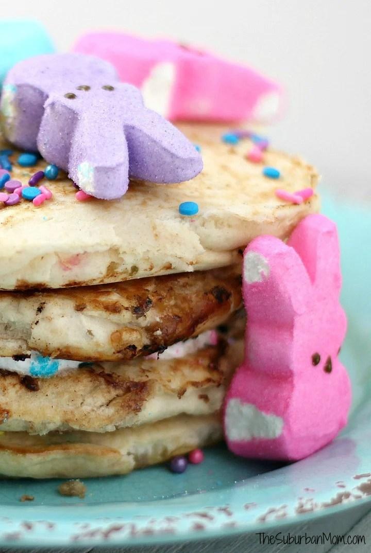 Easter Peeps Pancakes