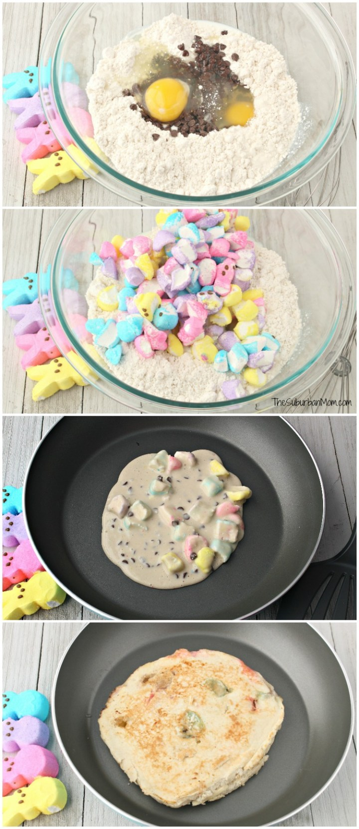 How To Make Peeps Pancakes