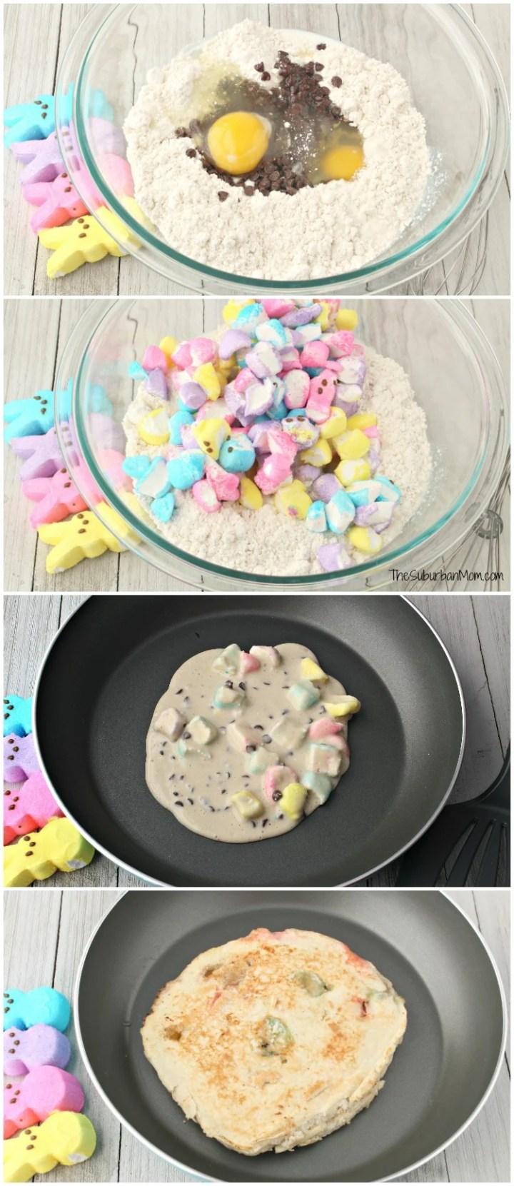 How To Make Peeps Pancakes