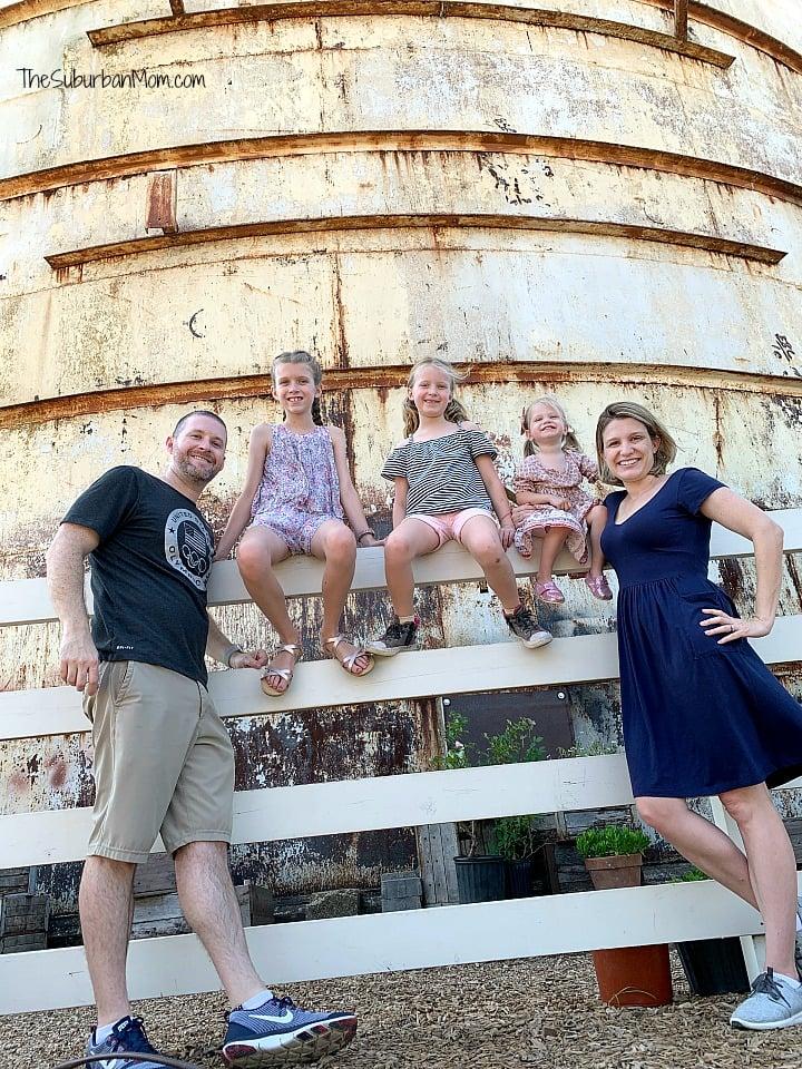 Family At Silos Waco Texas