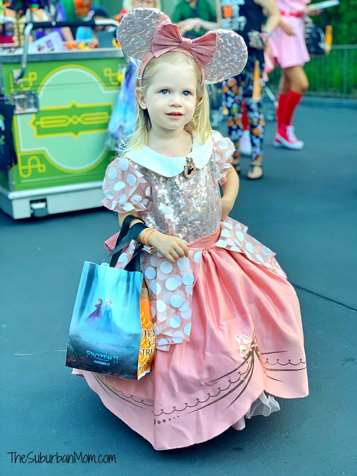 Fancy Pink Minnie Mouse Dress