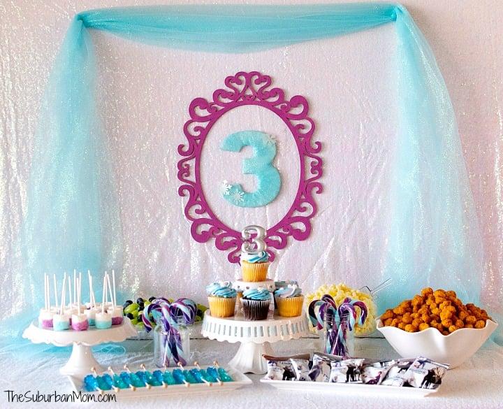 Beautiful Frozen Birthday Party Ideas Thesuburbanmom