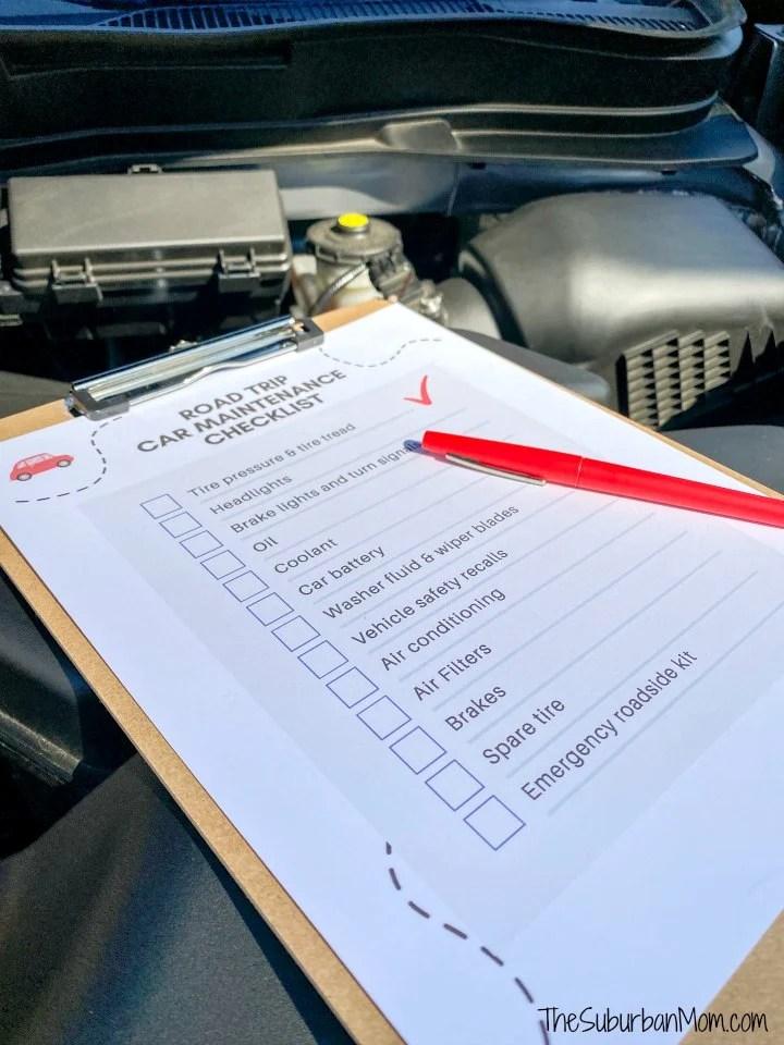 Car Maintenance Check