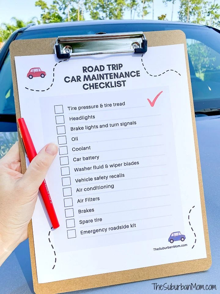 Road Trip Car Maintenance Checklist