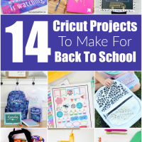 14 Cricut Projects To Make For Back To School