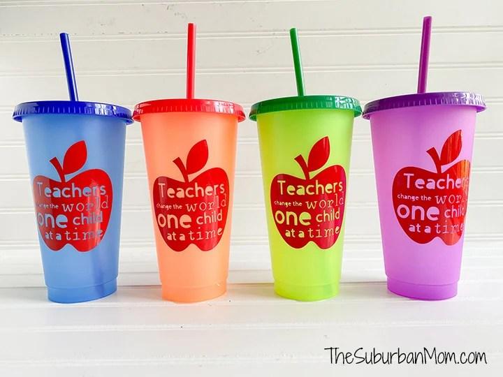 Teacher Gift Cups