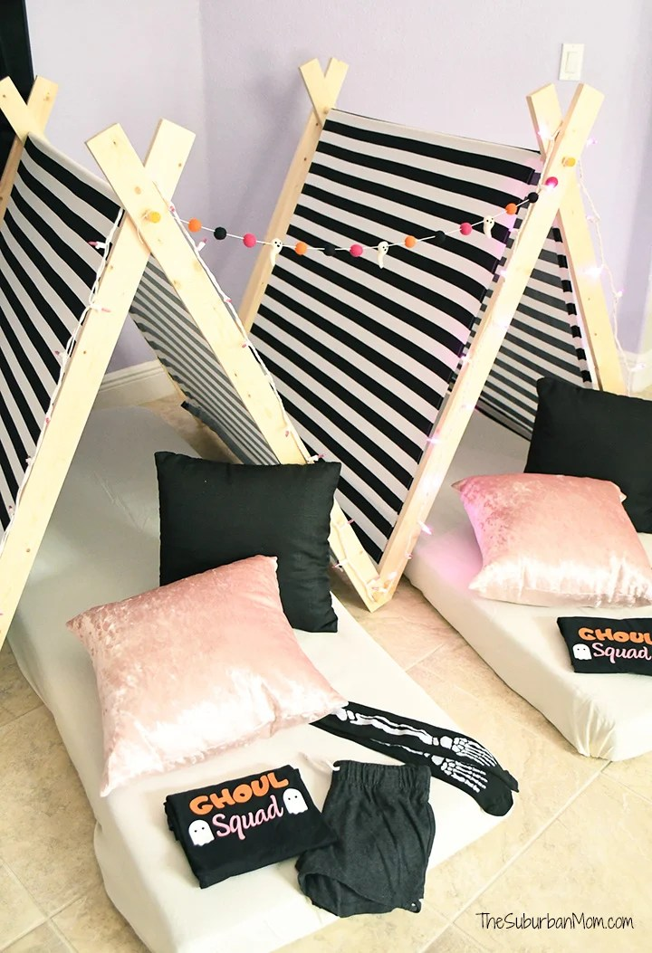 Halloween Sleepover Tents