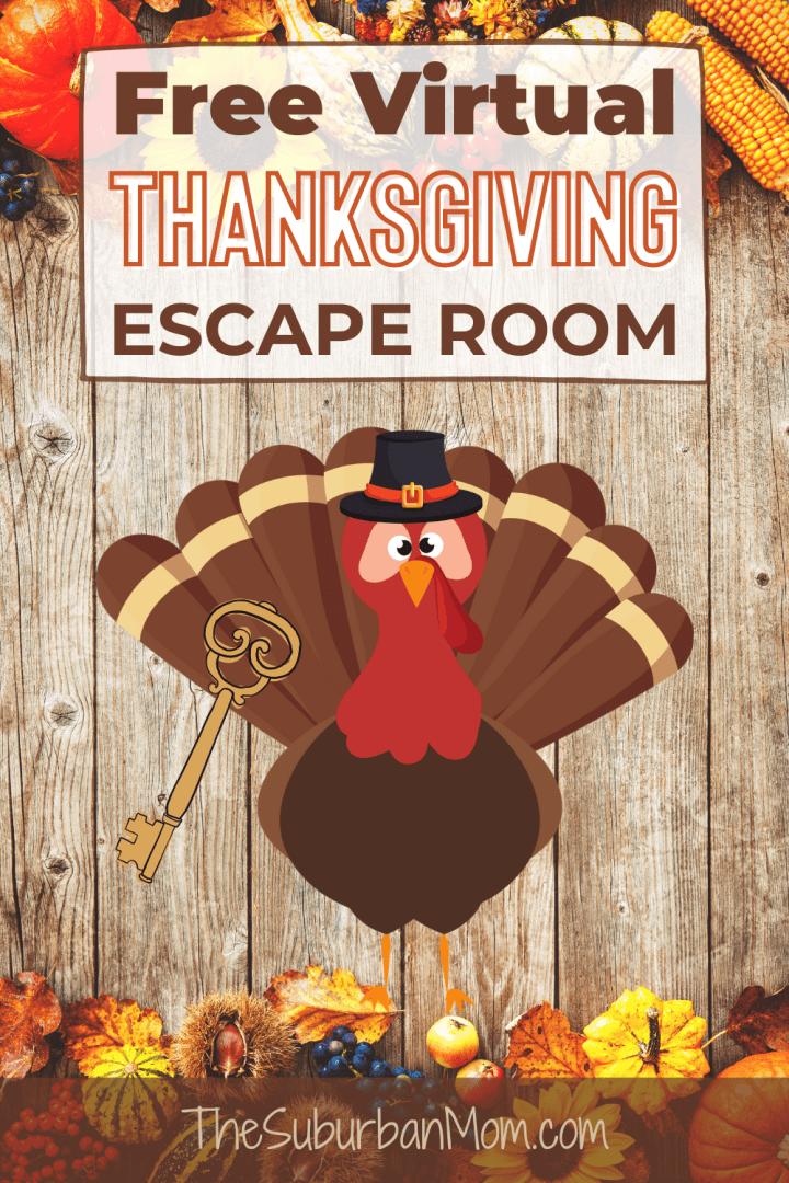 Thanksgiving Virtual Escape Room