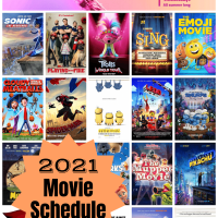Regal Summer Movie Express 2021 $1 Movie Schedule