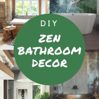 Bathroom Decor: Make It Zen