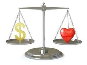 Balance Material & Spiritual