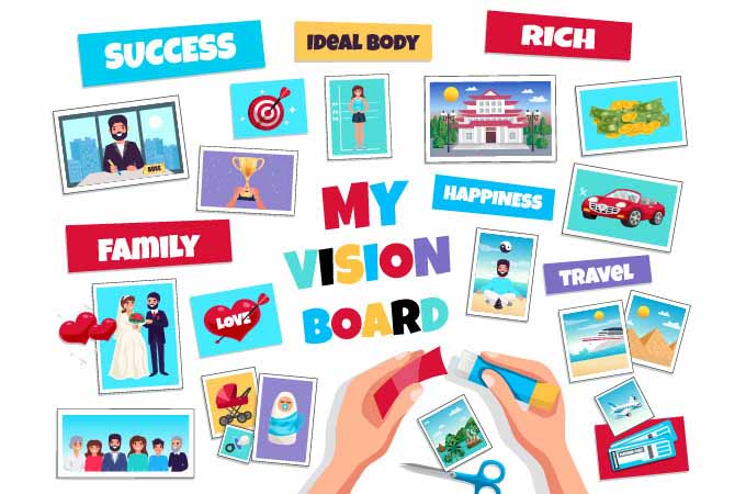 How to Use Vision Boards to Help You Believe in Yourself and Manifest Your Dreams