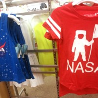 Buzz Aldrin clothing spotted at Target (in the girls section)