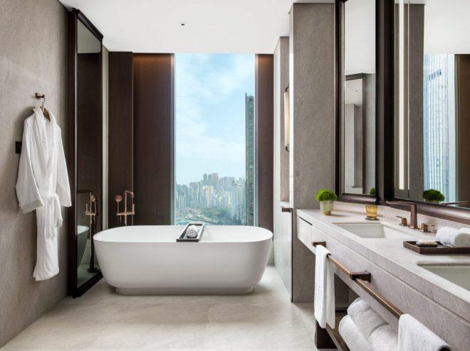 St Regis Hong Kong - Metropolitan Suite Bathroom