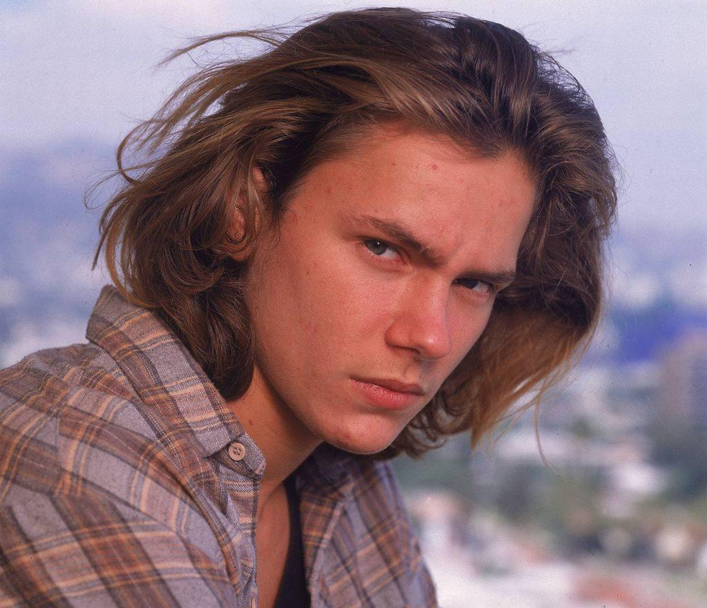 American actor River Phoenix