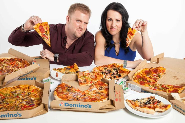 Image result for couples eating pizza
