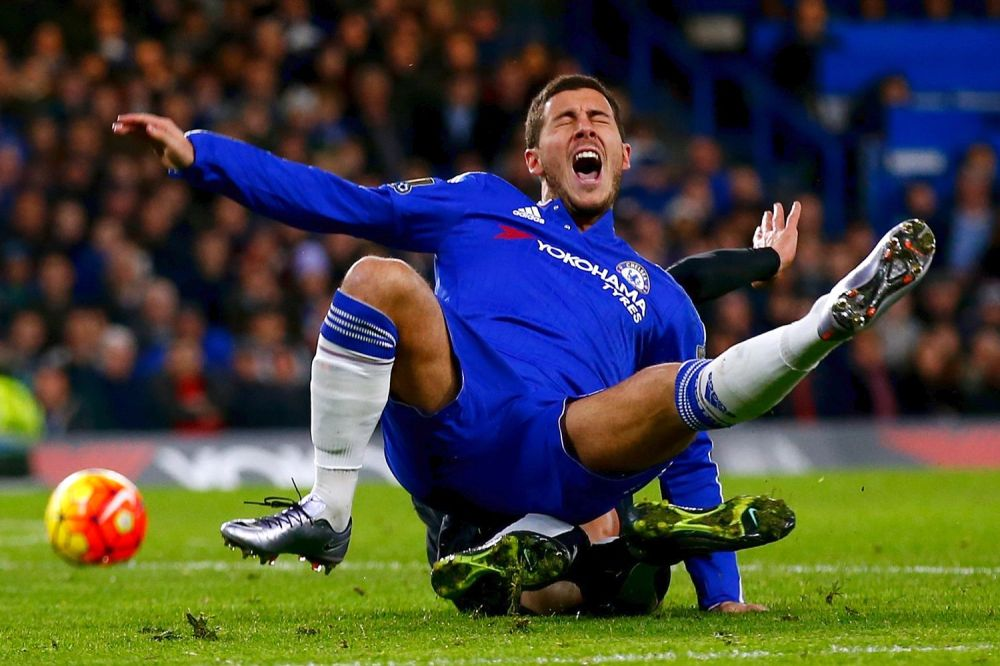 Image result for hazard and costa very sad