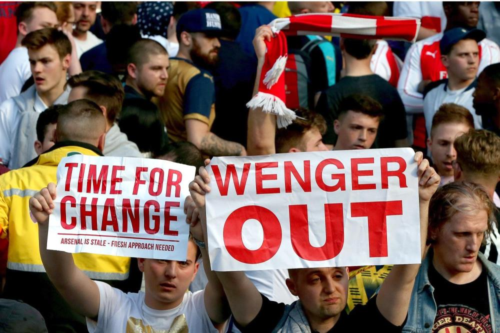 Image result for Arsenal fans furious