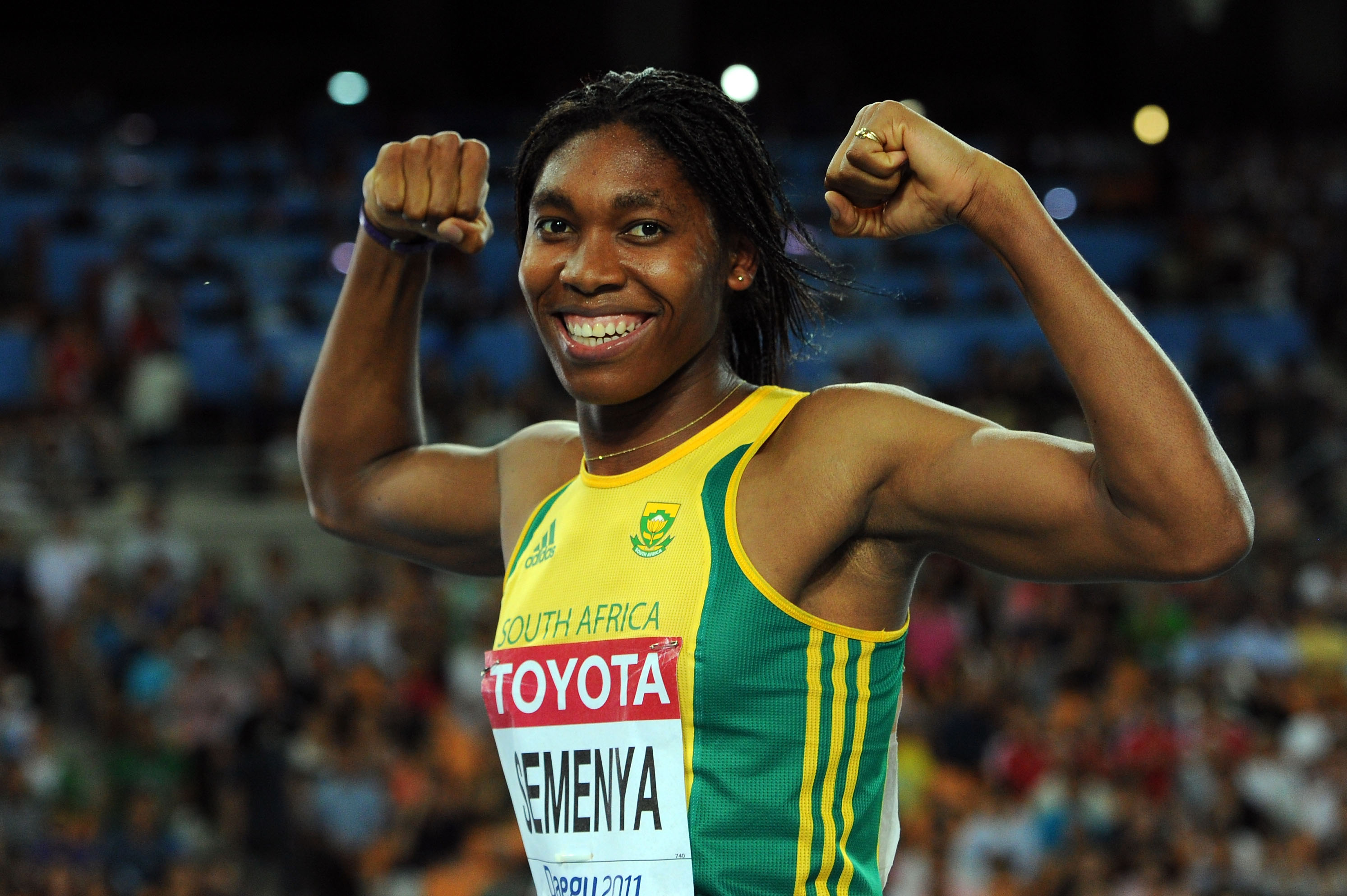 Semenya will race in the women's 800m and is expected to win