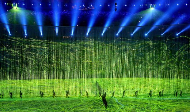 Rio de Janeiro is hosting the first ever OIympic Games in South America