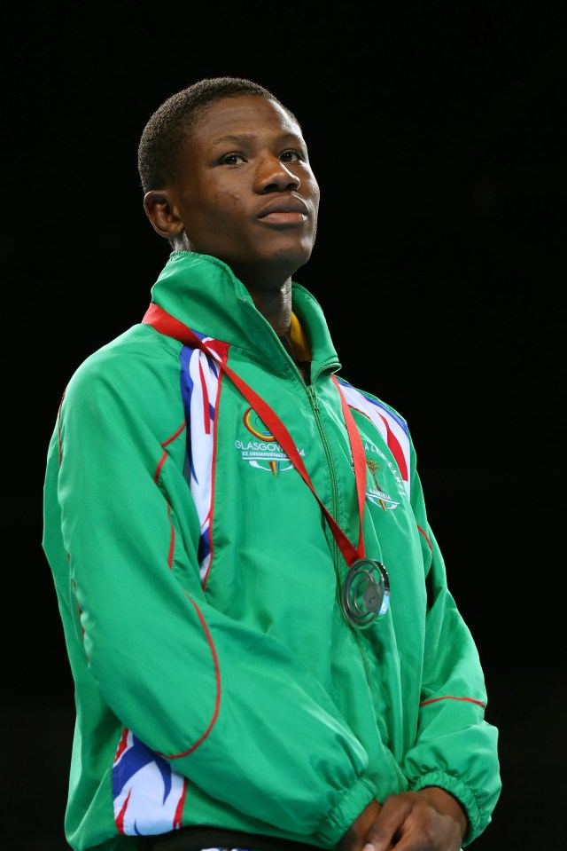 Jonas burst onto the amateur boxing scene when he won silver at the 2014 Commonwealth Games
