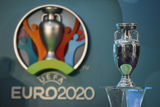Euro 2020 logo was released in London today