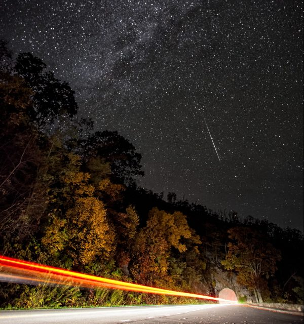 A spectacular meteor shower will light up the sky with shooting stars next week