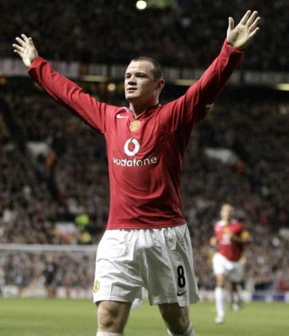 Manchester United - Fenerbahçe, partita d'esordio di Wayne Rooney in maglia red devils, in cui segnò ben tre reti, foto: PA Photo: Phil Noble