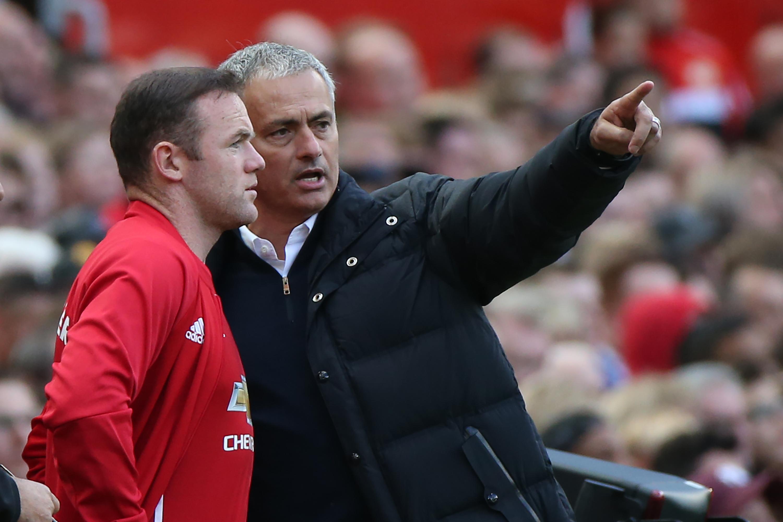 Image result for mourinho rooney