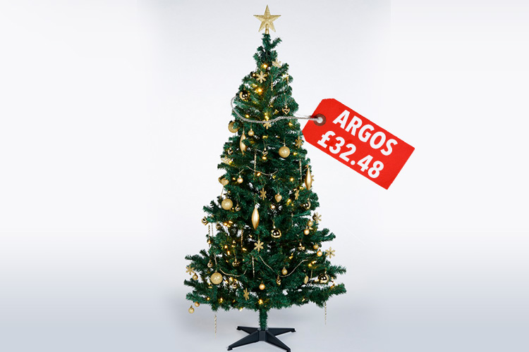 argos christmas trees and decorations. Black Bedroom Furniture Sets. Home Design Ideas