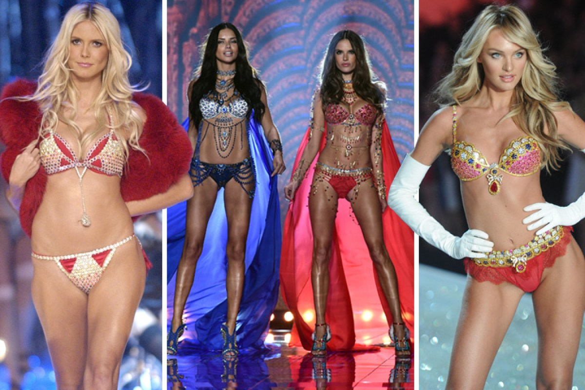 Here are all 20 of the Victoria s Secret Fantasy Bras since 1996 - and  every model who s worn them 773ec5695