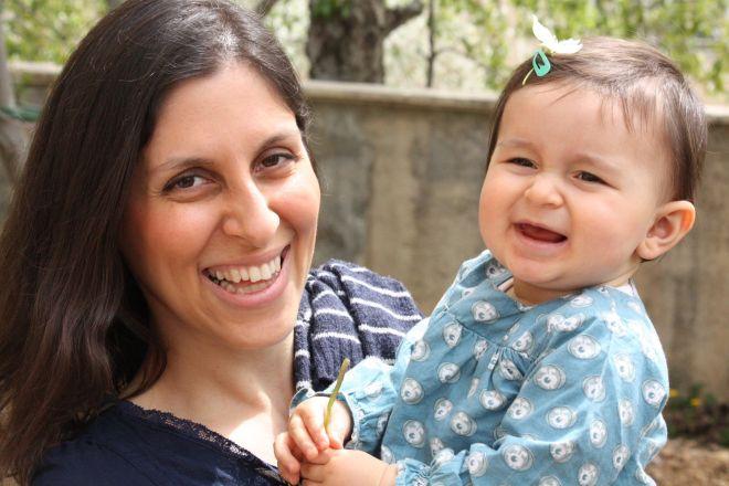Mum Nazanin Zaghari-Ratcliffe was visiting family in Iran with daughter Gabriella