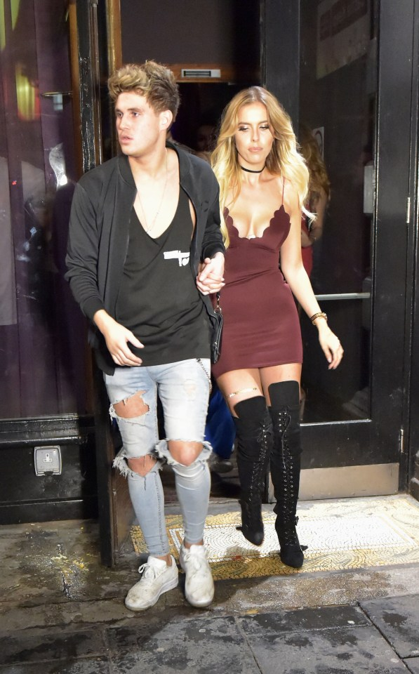 Chloe Ferry's ex Marty Mckenna looked cosy with new girl Eve Shannon