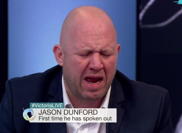 Jason Dunford Breaking in Tears.