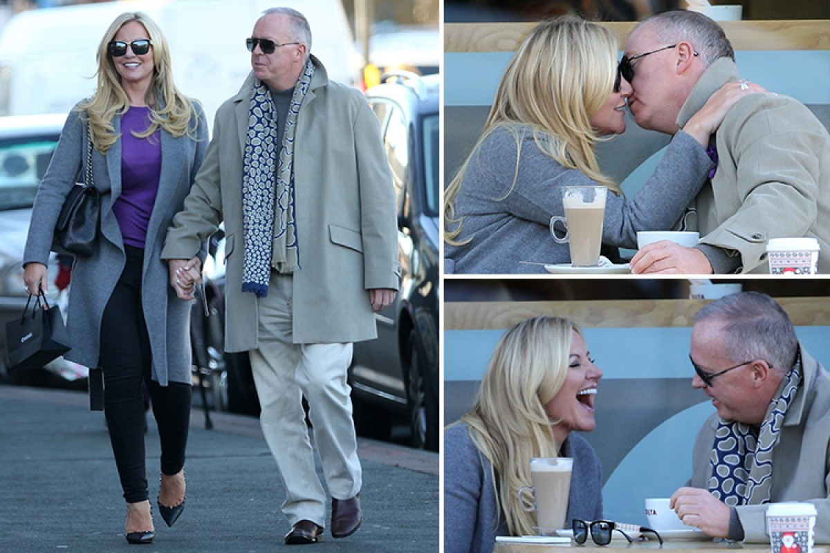 ef25f2025e Underwear mogul Michelle Mone spotted on a date with new man as she finds  love with boat billionaire