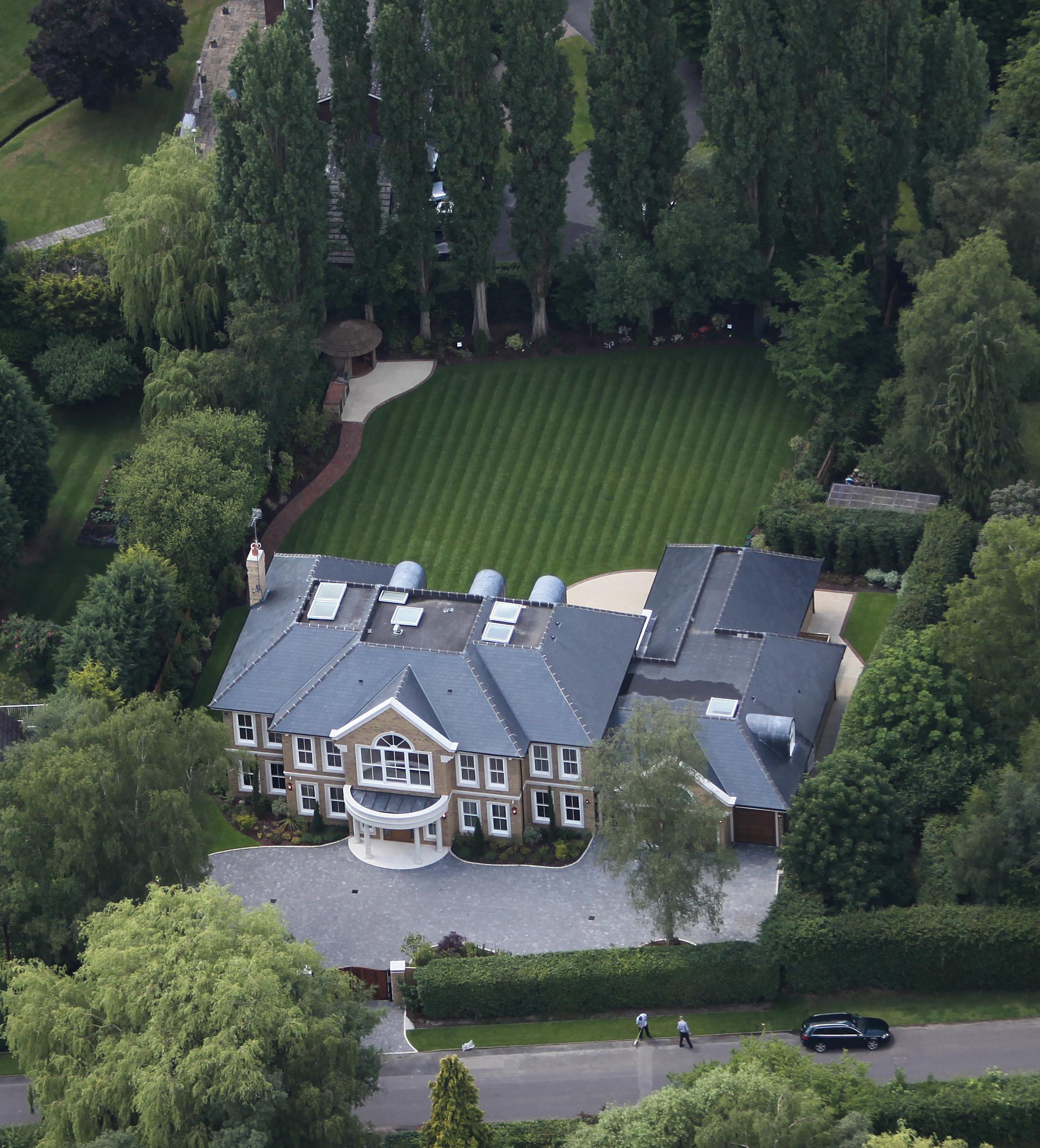Andy Murray's Surrey mansion