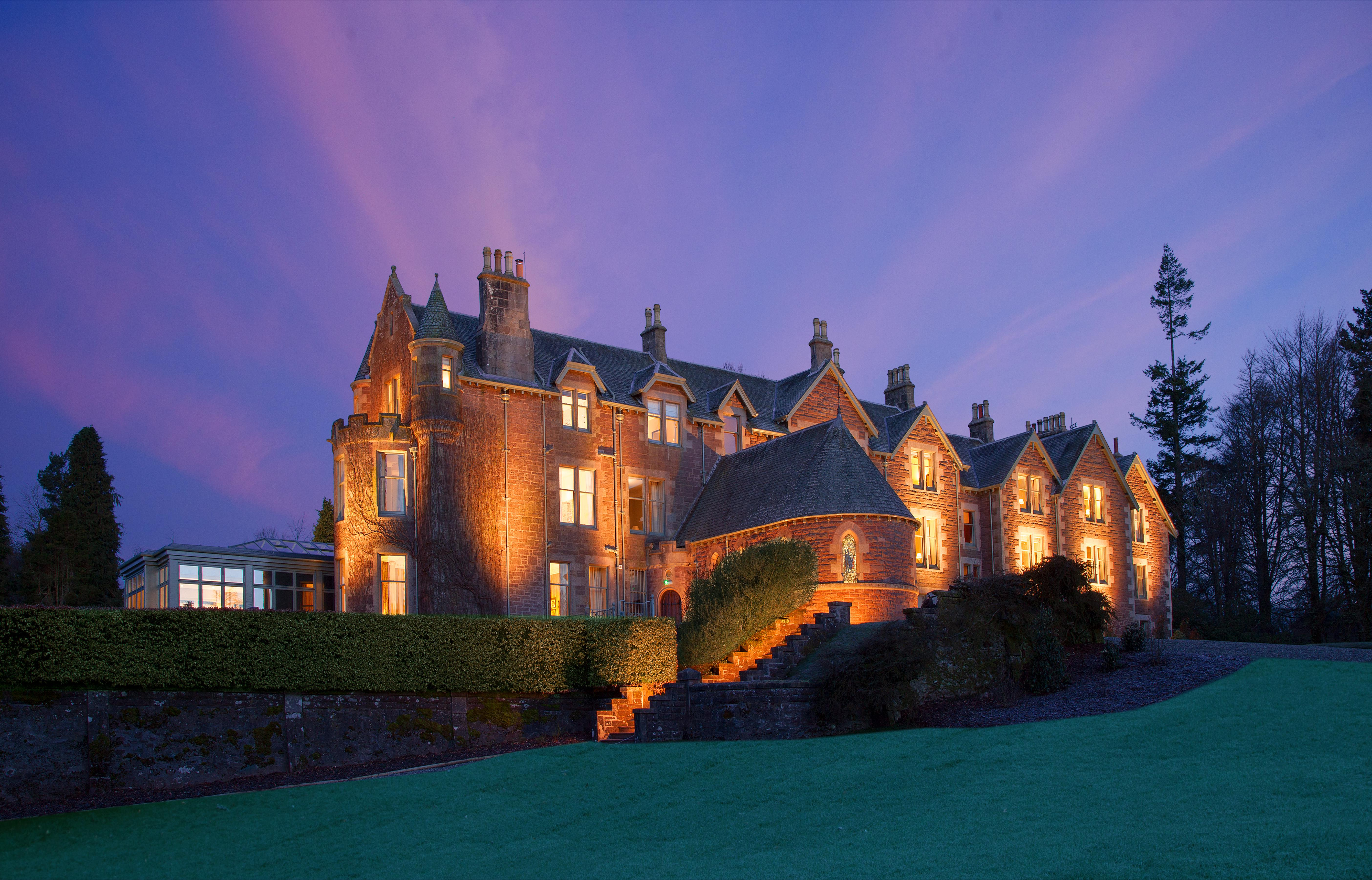 Cromlix House - the hotel owned by Andy Murray