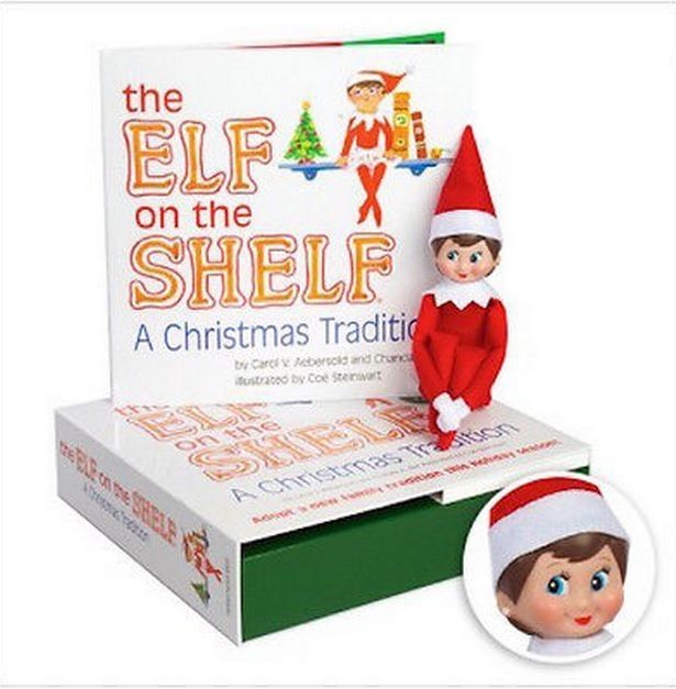 Originally,. the Elf on the Shelf was a book but now it's been turned into a Christmas tradition