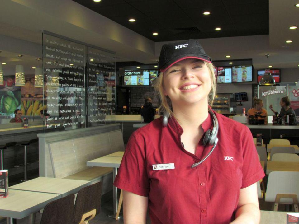 Bethany on KFC documentary