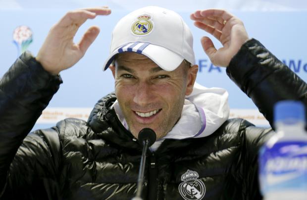 Zinedine Zidane admits it will be a tough game