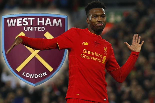 Daniel Sturridge to West Ham Hammers will make an all out attempt