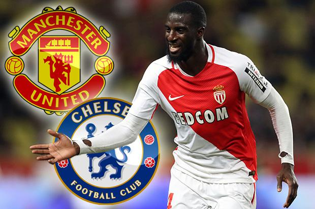Manchester United and Chelsea tar Monaco midfielder Tiemoue