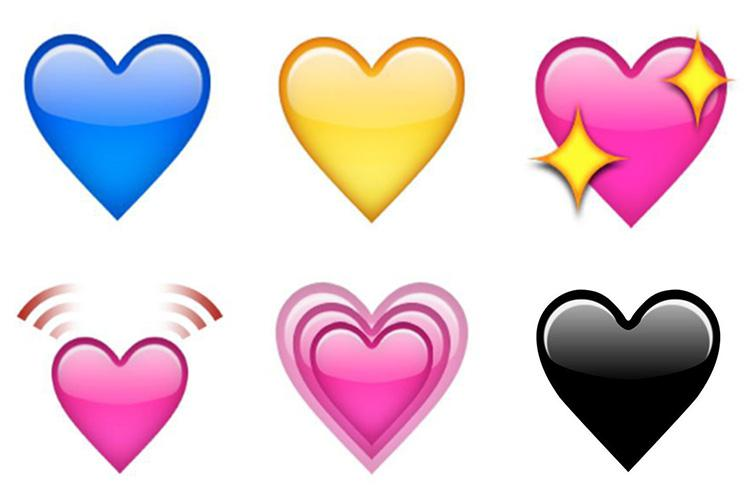 Here's what these popular heart emojis REALLY mean... from sorrow ...