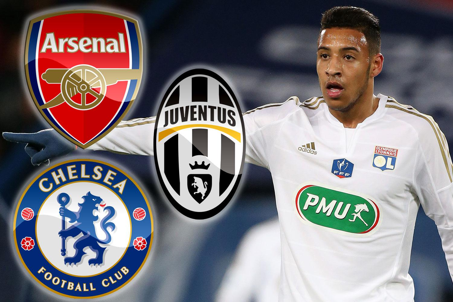 Chelsea and Arsenal transfer news Corentin Tolisso wanted by