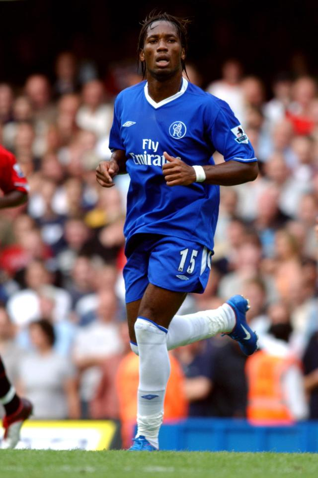 Didier Drogba signed for Chelsea all the way back in 2004 from Marseille