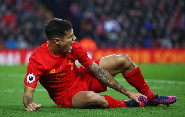 Philippe Coutinho is in line to play some part in the Southampton clash on Wednesday